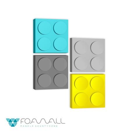 Panele block L żółcie