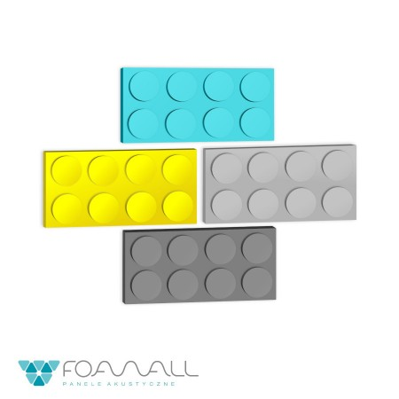 Panele block XL szarości ciepłe