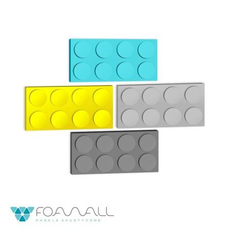 Panele block XL zielenie ciepłe
