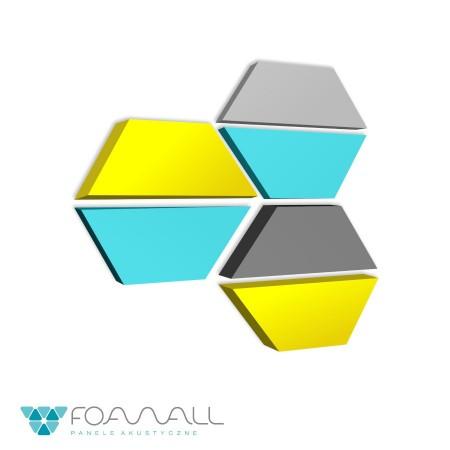 Panele soft trapix błękity