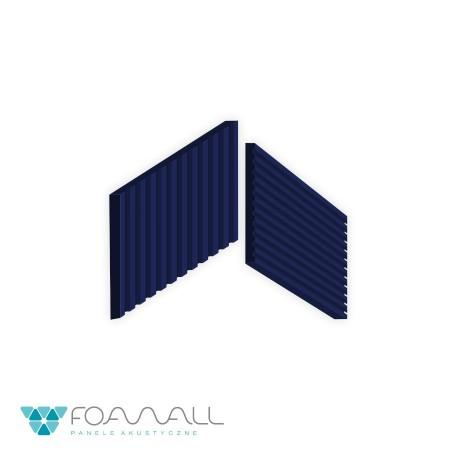 Panele 3D brilient rift błękity