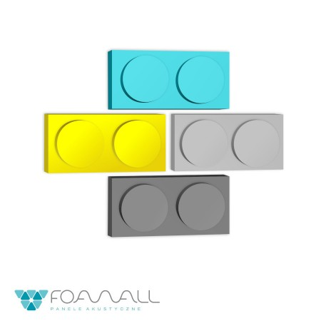 Panele block S żółcie