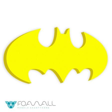 Panele duże logo batman słoneczny