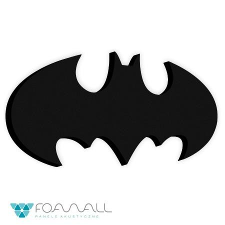 Panele małe logo batman czarny