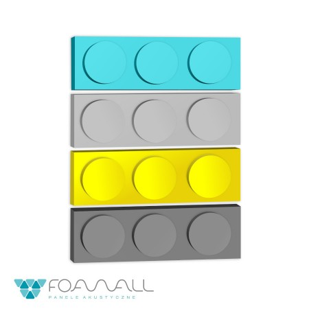 Panele block SM żółcie