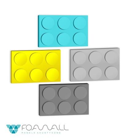 Panele block SL żółcie