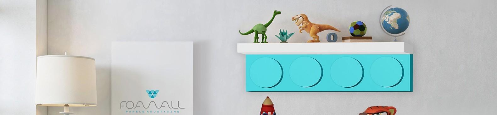 Wiszące półki na ścianę