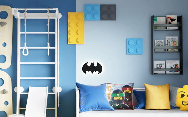 Decory z motywem Batmana